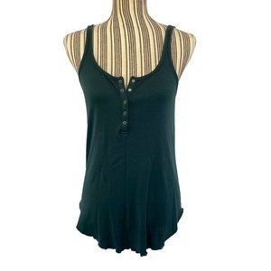 Chaser Turquoise Tank Top SZ M